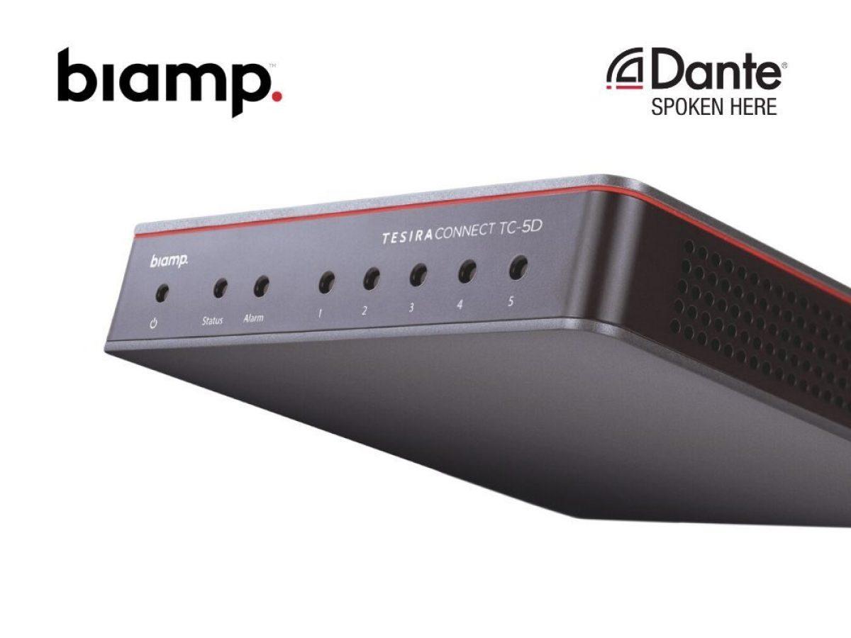 Biamp Dante AVB network device