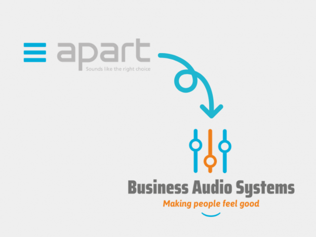 Apart Audio Nederland wordt Business Audio Systems Nederland