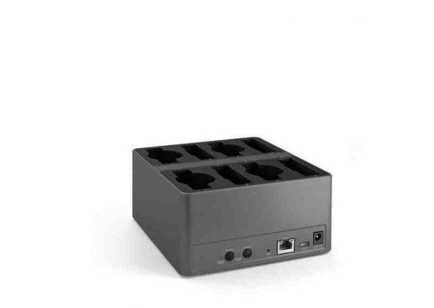 Unite CDD-8/4 desktop oplaadstation (Leverbaar Okt 2021)