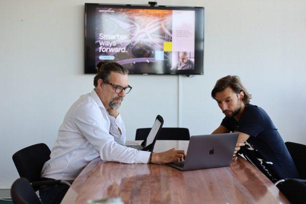 Hybride vergaderen bij Datavisual
