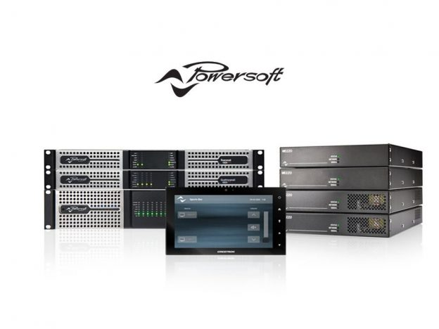 Powersoft Plug ins voor Q Sys en Crestron