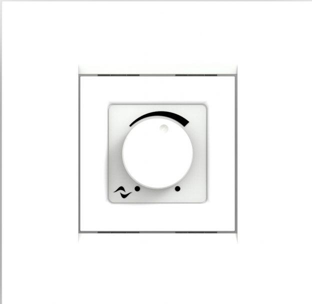 Powersoft WMP Square White Volume Level Controller