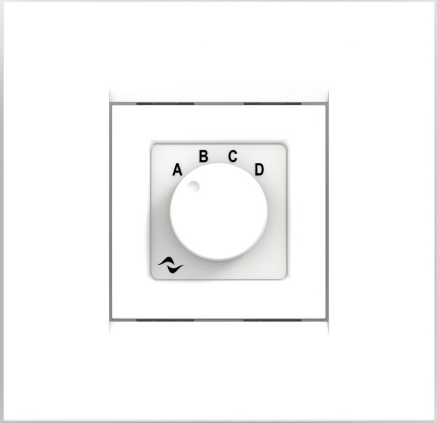 Powersoft WMP Square White Select Control