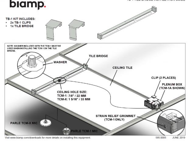 Biamp TB 1